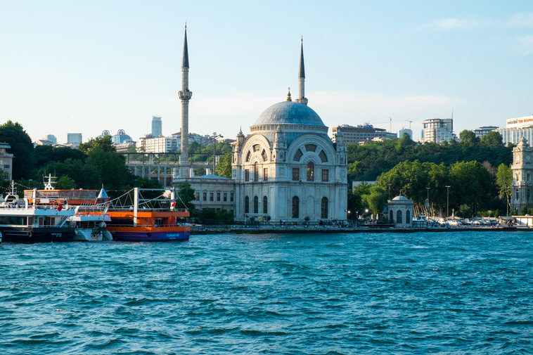 Istanbul seen from the Bophorus